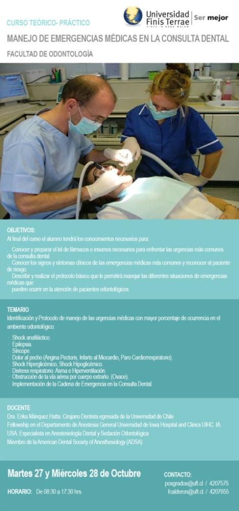 emergencia odontologica