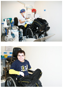 Reclinador de silla de ruedas para atenci n odontol gica for Silla odontologica