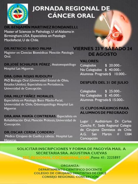 Cancer Oral (Concepción)