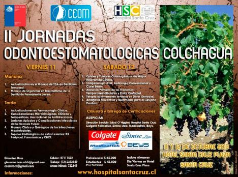 II Jornadas Odontoestomatologicas Colchagua 2013