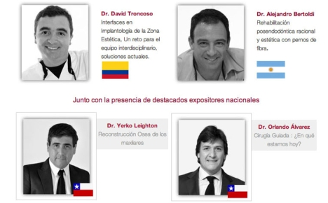 Congreso_Rehabilitacion-Oral_TEMUCO_speakers