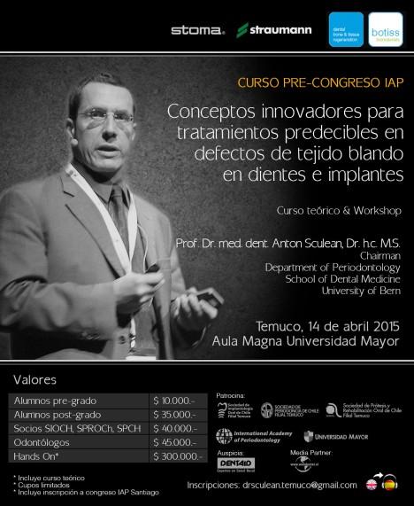 Dr. Anton Sculean, Temuco